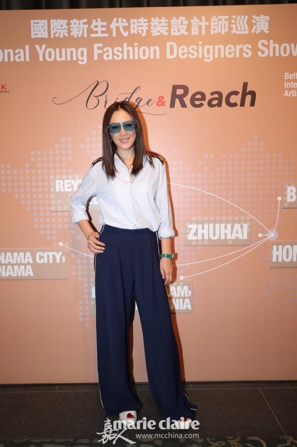 国际新生代时装设计师巡演宣传大使及参与设计师琦琦