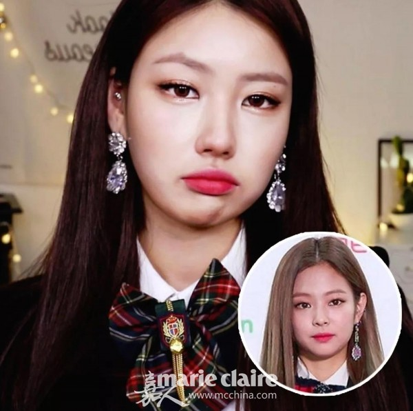 BLACKPINK Jennie仿妝