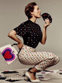 """路易威登品牌大使Léa Seydoux  倾情演绎2021早春 """"Game On"""" 系列"""